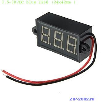 3.5-30VDC blue IP68 (24x42mm )