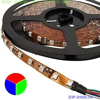 5050 300LED IP33 12V*72W RGB