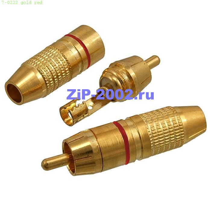 7-0222 gold red