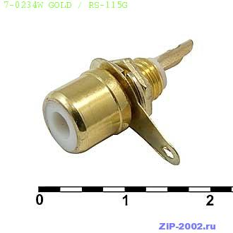 7-0234W GOLD / RS-115G