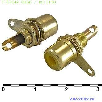 7-0234Y GOLD / RS-115G