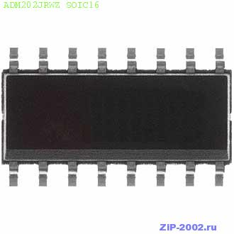ADM202JRWZ SOIC16
