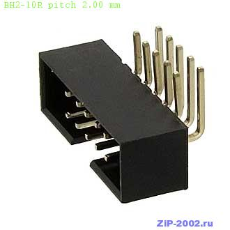 BH2-10R pitch 2.00 mm
