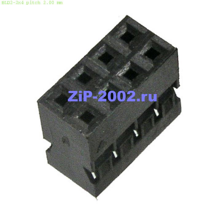 BLD2-2x4 pitch 2.00 mm