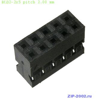 BLD2-2x5 pitch 2.00 mm