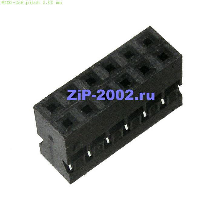 BLD2-2x6 pitch 2.00 mm