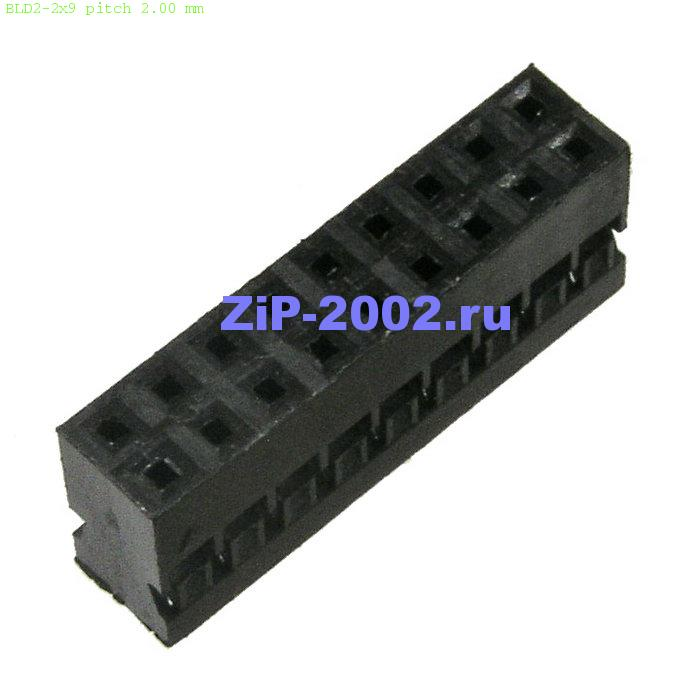 BLD2-2x9 pitch 2.00 mm