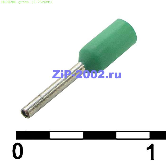DN00206 green (0.75x6mm)