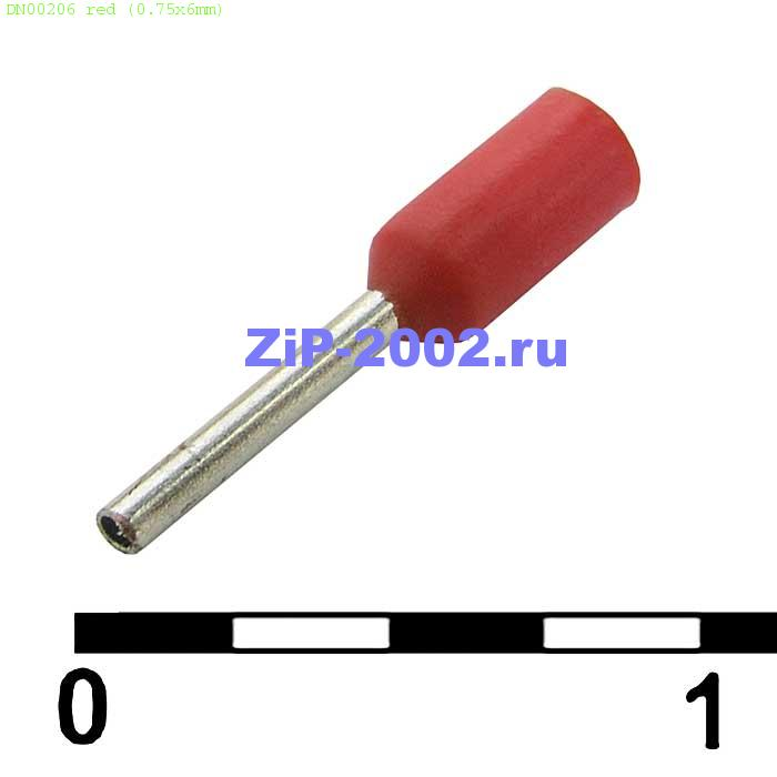 DN00206 red (0.75x6mm)