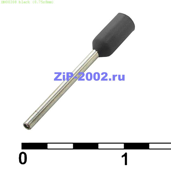 DN00208 black (0.75x8mm)
