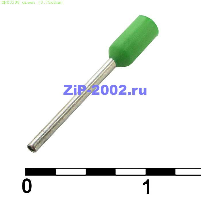 DN00208 green (0.75x8mm)