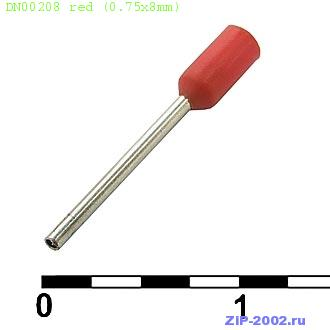 DN00208 red (0.75x8mm)