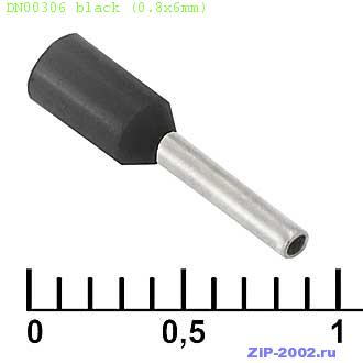 DN00306 black (0.8x6mm)