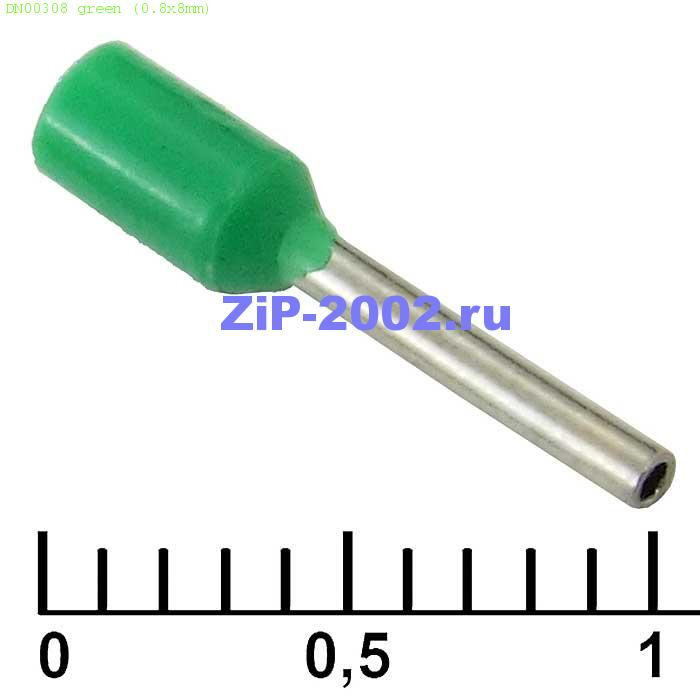 DN00308 green (0.8x8mm)