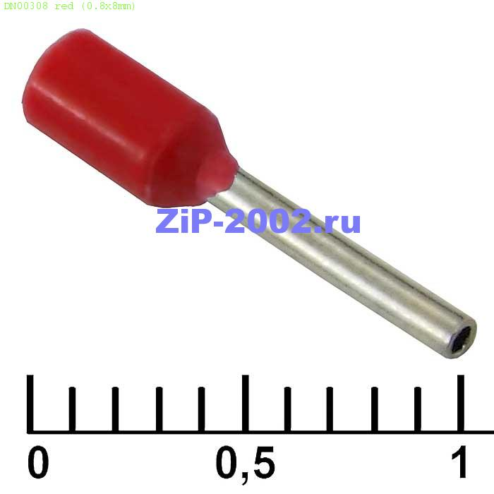DN00308 red (0.8x8mm)