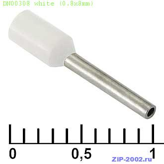 DN00308 white (0.8x8mm)