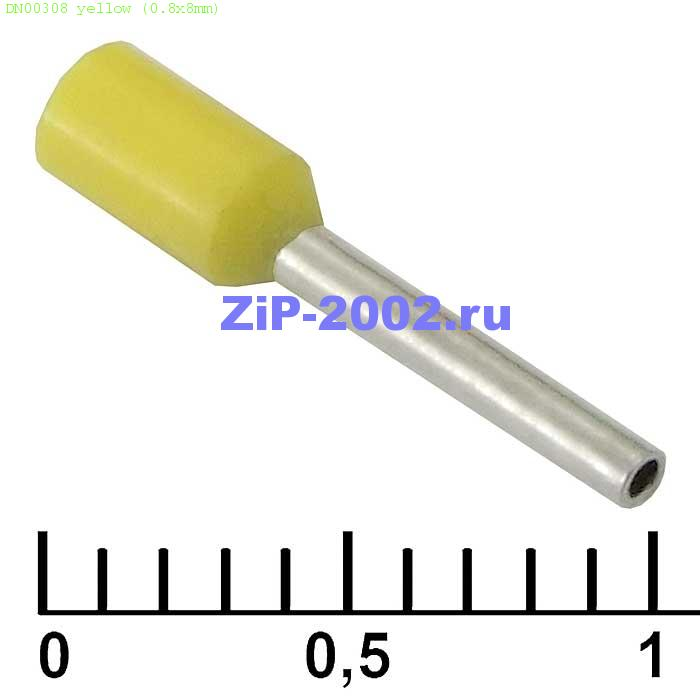 DN00308 yellow (0.8x8mm)