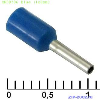 DN00506 blue (1x6mm)