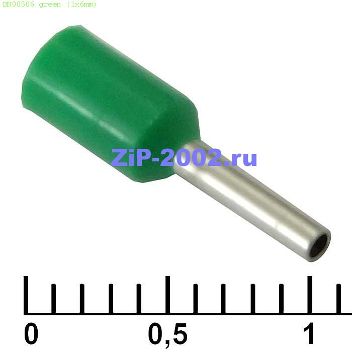 DN00506 green (1x6mm)