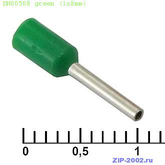 DN00508 green (1x8mm)