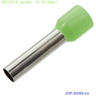 DN10018 green (4.5x18mm)
