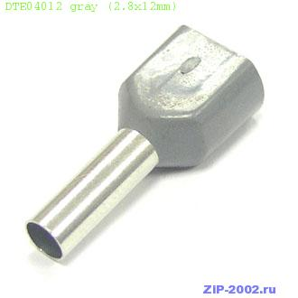 DTE04012 gray (2.8x12mm)
