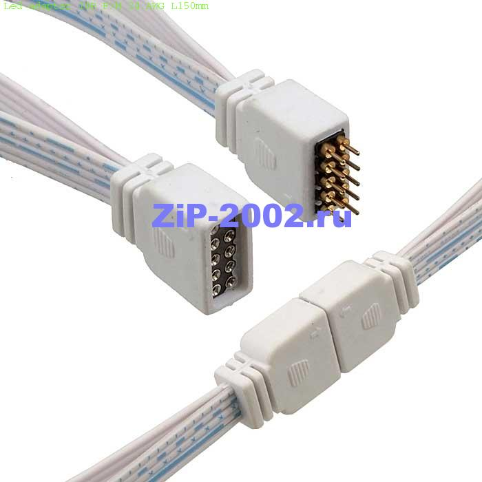 Led adapter 10P F/M 24 AWG L150mm