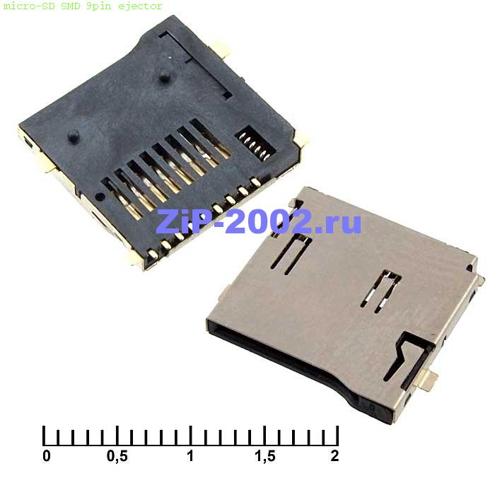micro-SD SMD 9pin ejector
