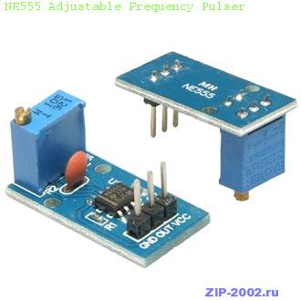 NE555 Adjustable Frequency Pulser
