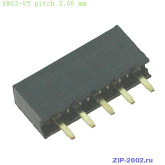 PBS2-05 pitch 2.00 mm