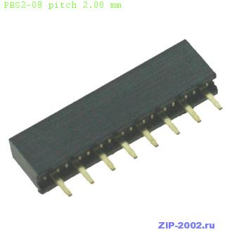 PBS2-08 pitch 2.00 mm