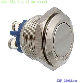 PBS-28B-2 D-16 mm steel