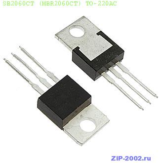 SB2060CT (MBR2060CT) TO-220AC