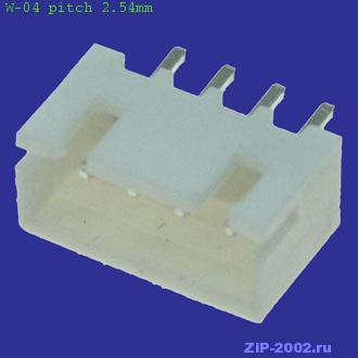 W-04 pitch 2.54mm