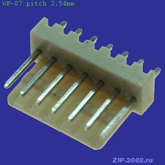 WF-07 pitch 2.54mm