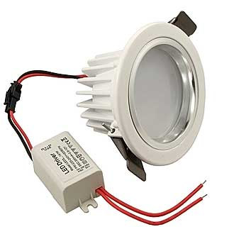 3W 220v 280LM D90*H58*80